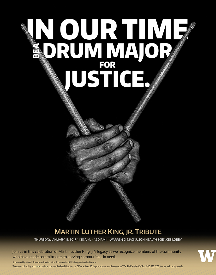 MLK Tribute Poster, 2017