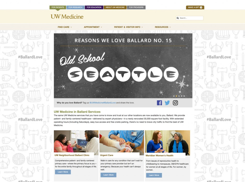 ballard homepage