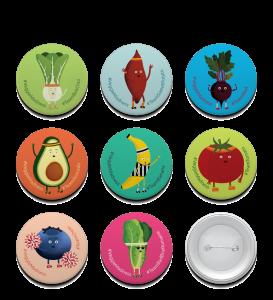 Veggie Buttons