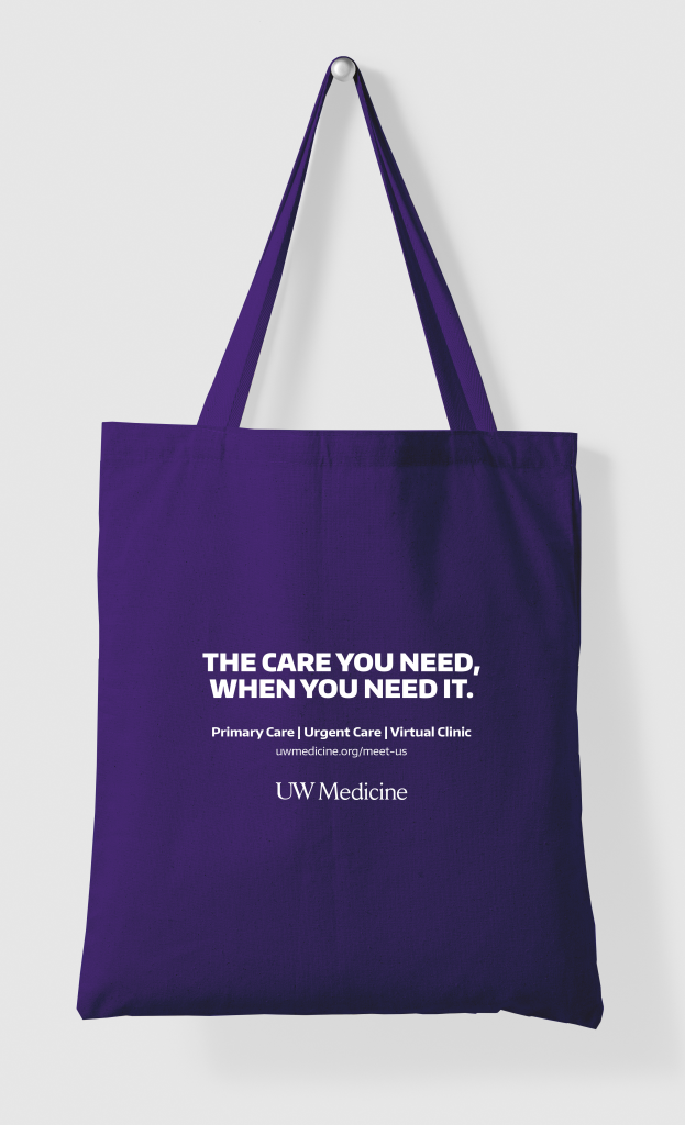 Primary Care Tote Bag - reverse